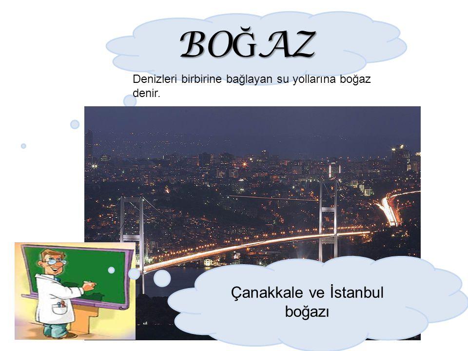 Çanakkale ve İstanbul boğazı
