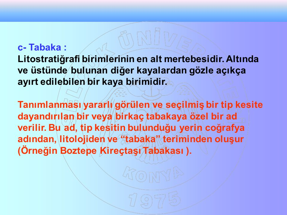 c- Tabaka :