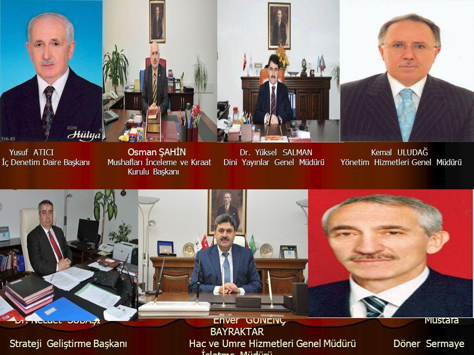 Yusuf ATICI Osman ŞAHİN Dr. Yüksel SALMAN Kemal ULUDAĞ.