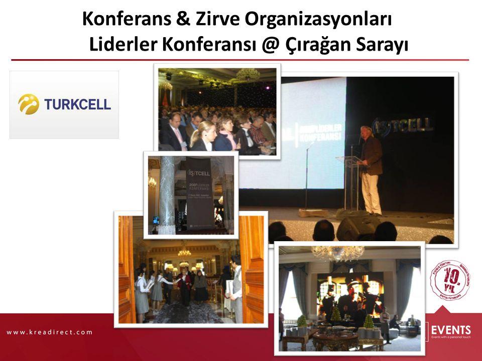 Konferans & Zirve Organizasyonları Liderler Konferansı @ Çırağan Sarayı