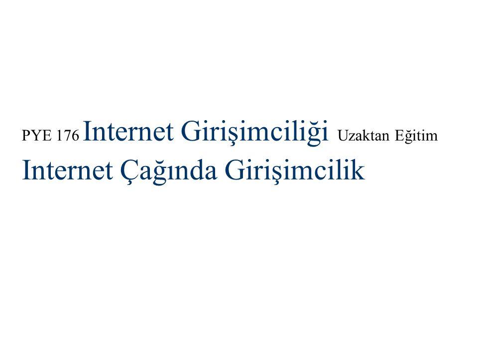 Internet Çağında Girişimcilik