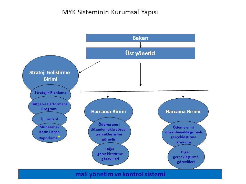 MYK Sisteminin Kurumsal Yapısı