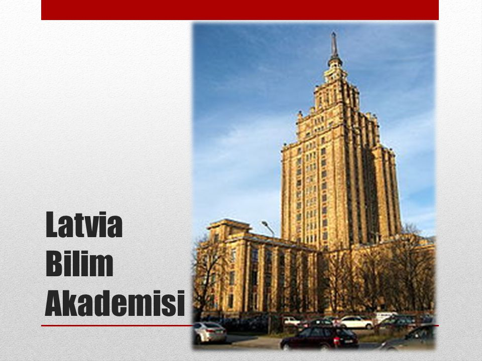 Latvia Bilim Akademisi