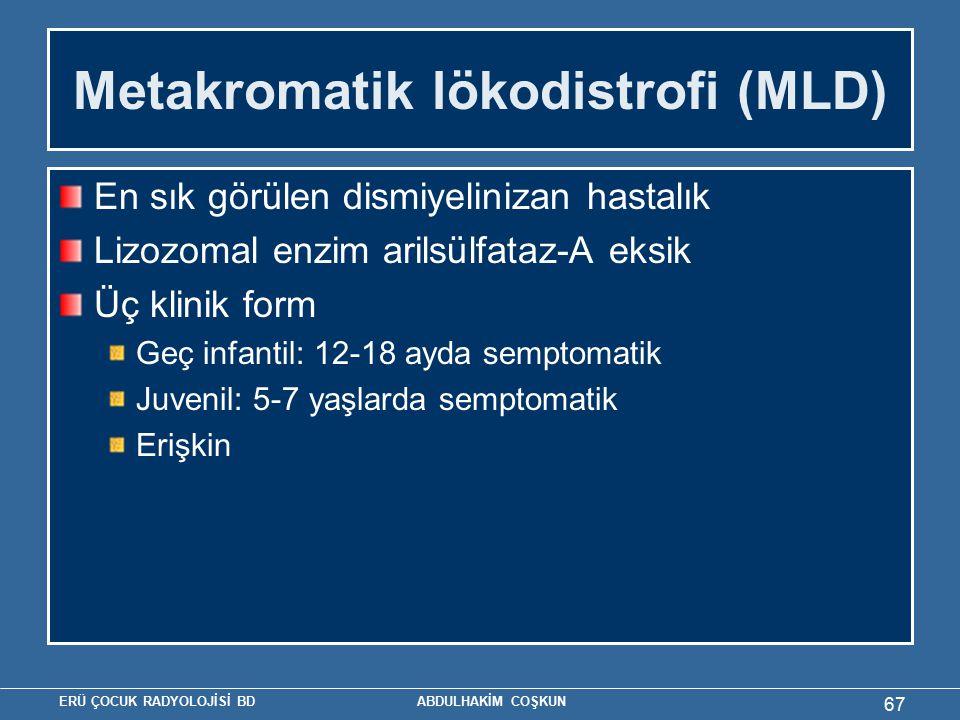 Metakromatik lökodistrofi (MLD)