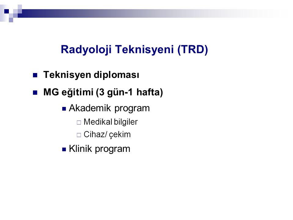 Radyoloji Teknisyeni (TRD)