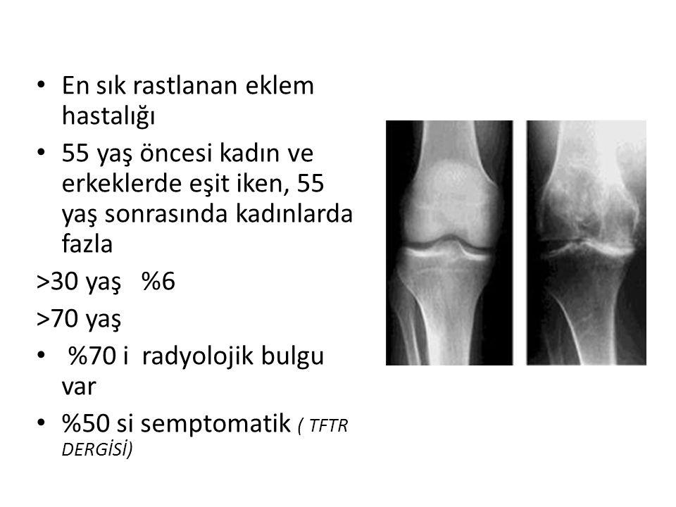 En sık rastlanan eklem hastalığı