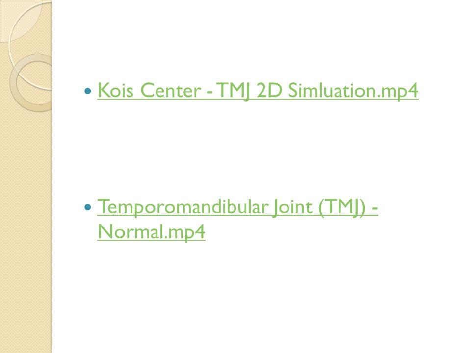 Kois Center - TMJ 2D Simluation.mp4
