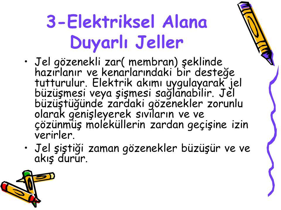 3-Elektriksel Alana Duyarlı Jeller
