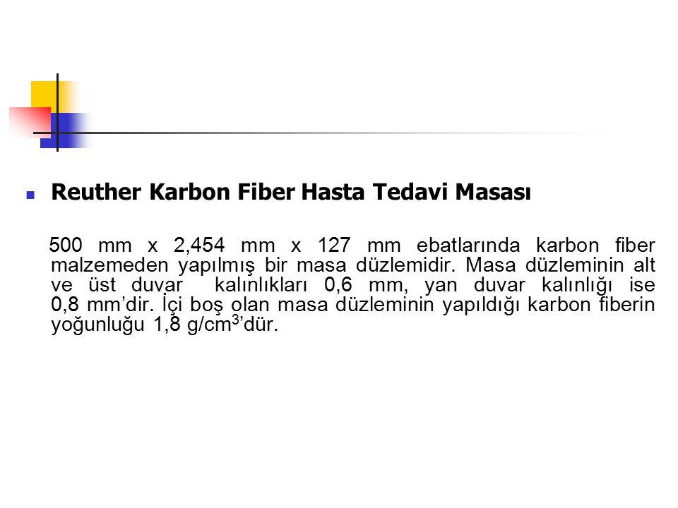 Reuther Karbon Fiber Hasta Tedavi Masası