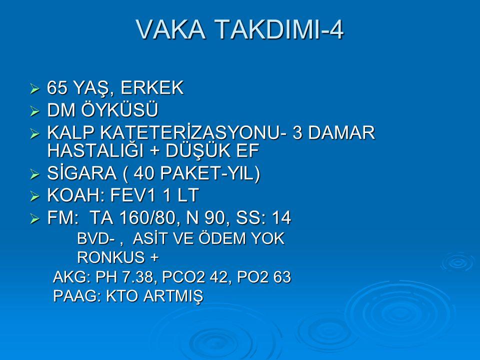 VAKA TAKDIMI-4 65 YAŞ, ERKEK DM ÖYKÜSÜ