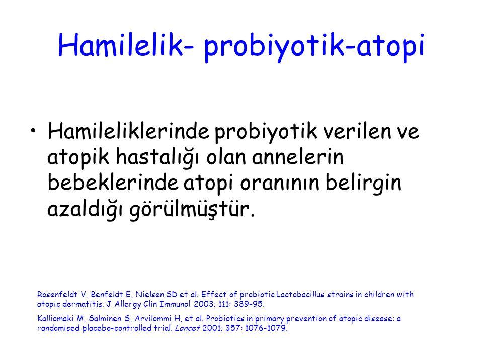 Hamilelik- probiyotik-atopi