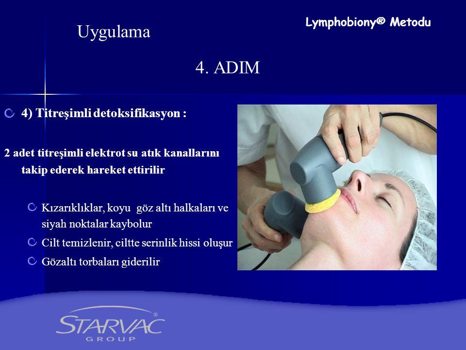 Uygulama 4. ADIM 4) Titreşimli detoksifikasyon : Lymphobiony® Metodu
