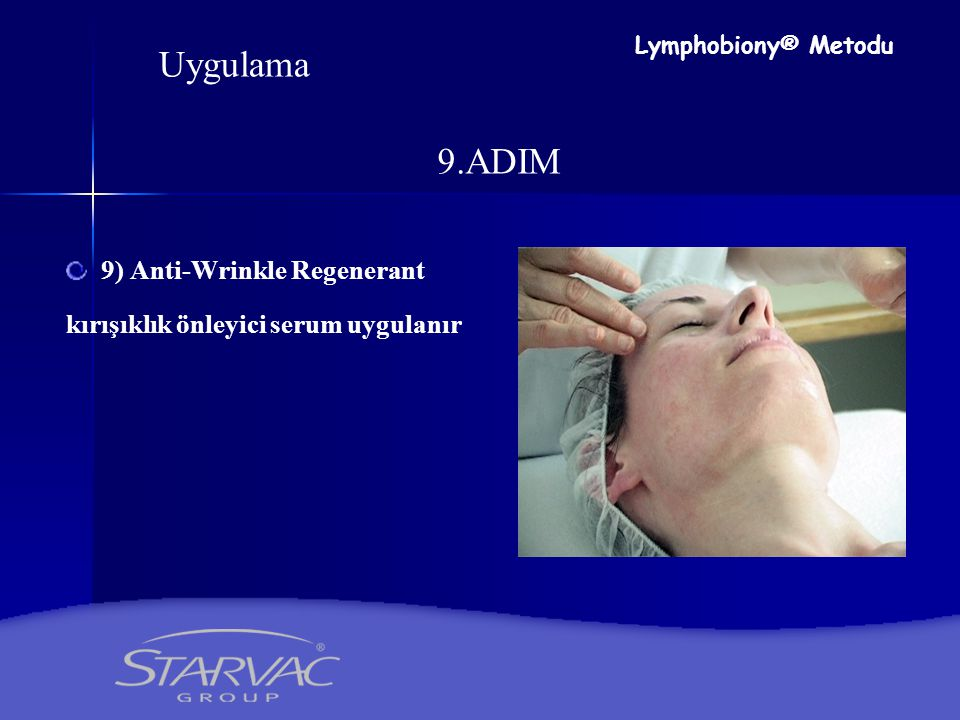 Uygulama 9.ADIM 9) Anti-Wrinkle Regenerant