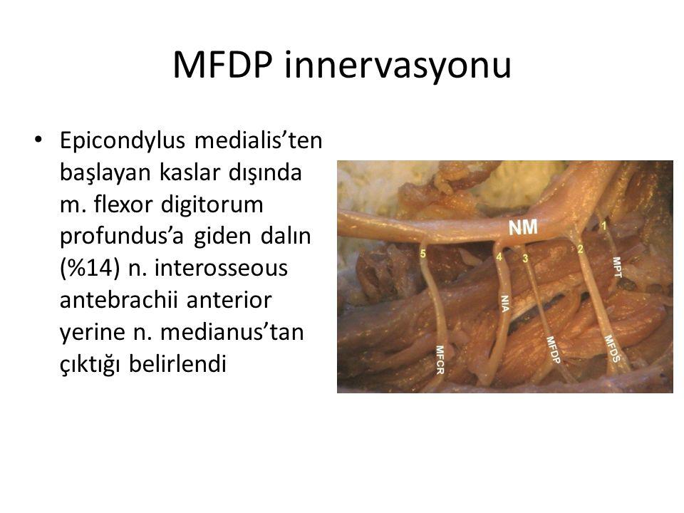 MFDP innervasyonu