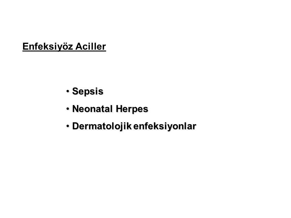 Dermatolojik enfeksiyonlar