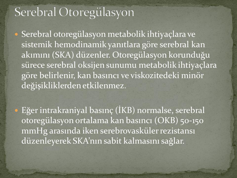 Serebral Otoregülasyon