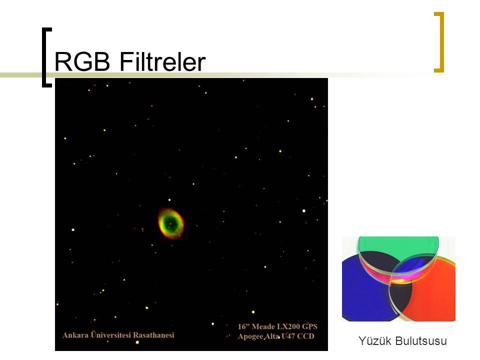 RGB Filtreler Yüzük Bulutsusu