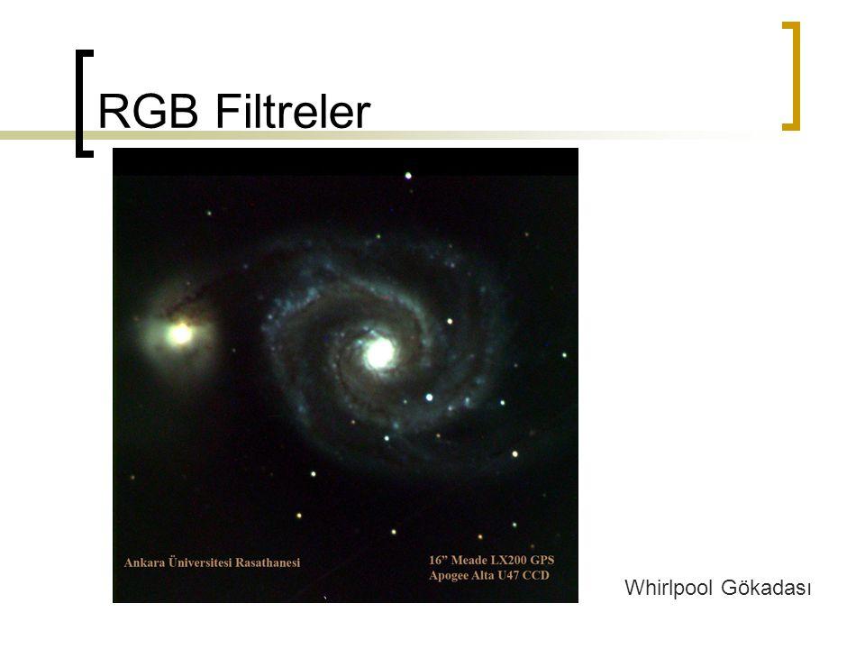RGB Filtreler Whirlpool Gökadası