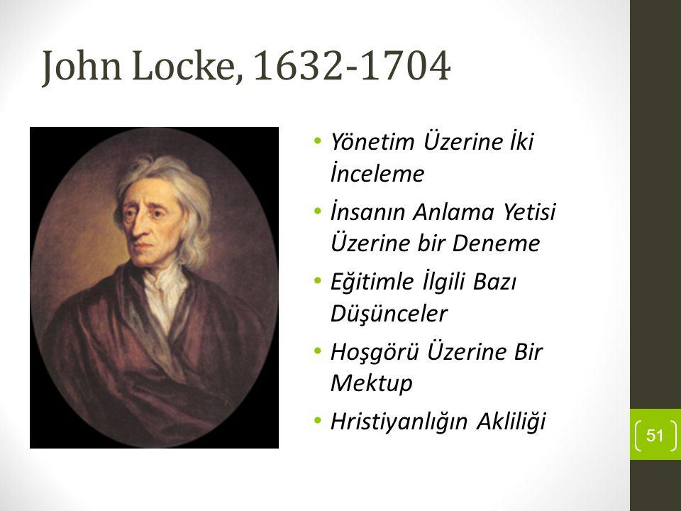 John Locke, 1632-1704 Yönetim Üzerine İki İnceleme