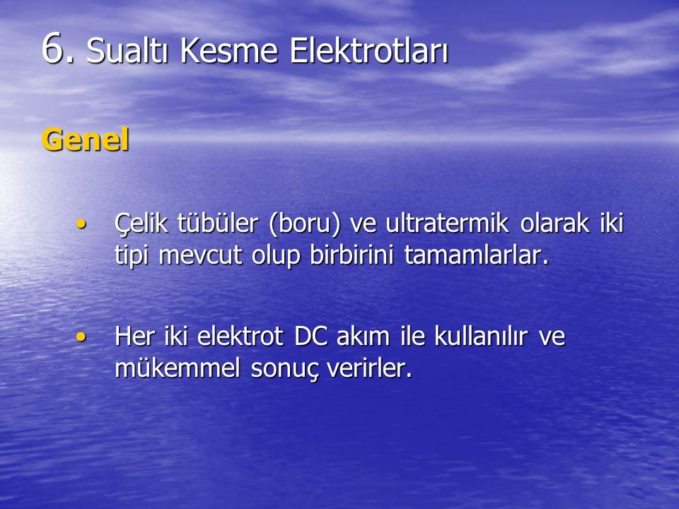 Sualtı Kesme Elektrotları