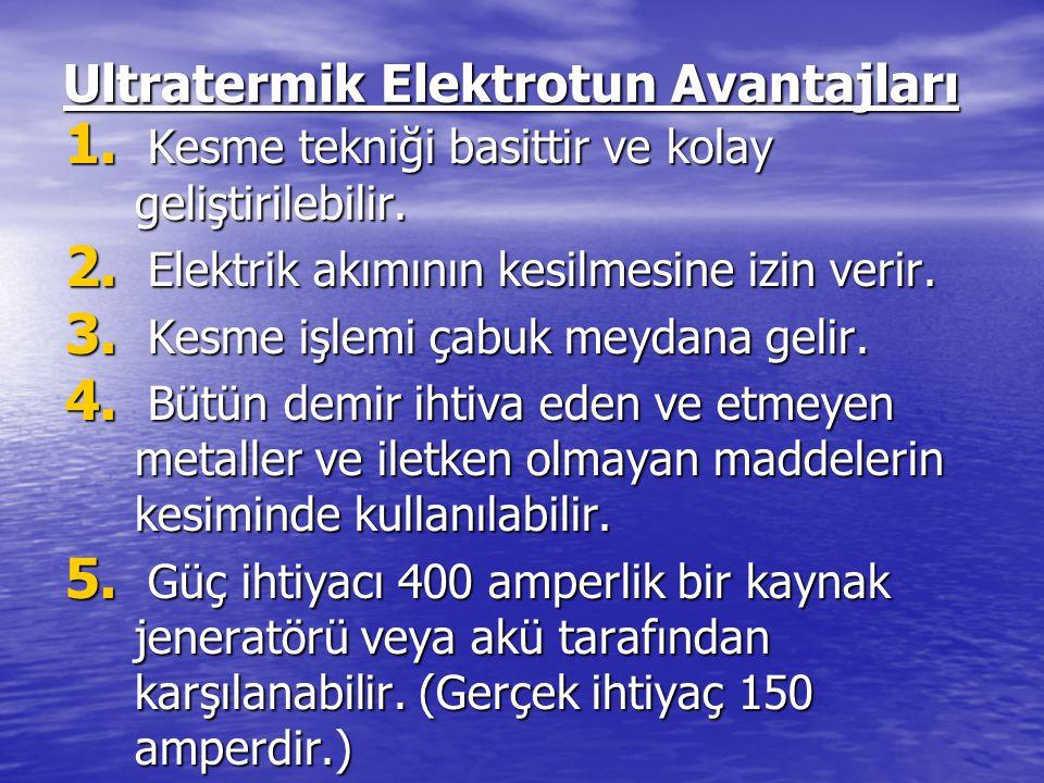 Ultratermik Elektrotun Avantajları