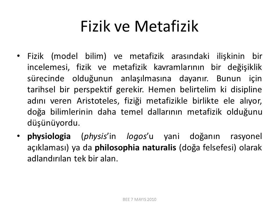 Fizik ve Metafizik