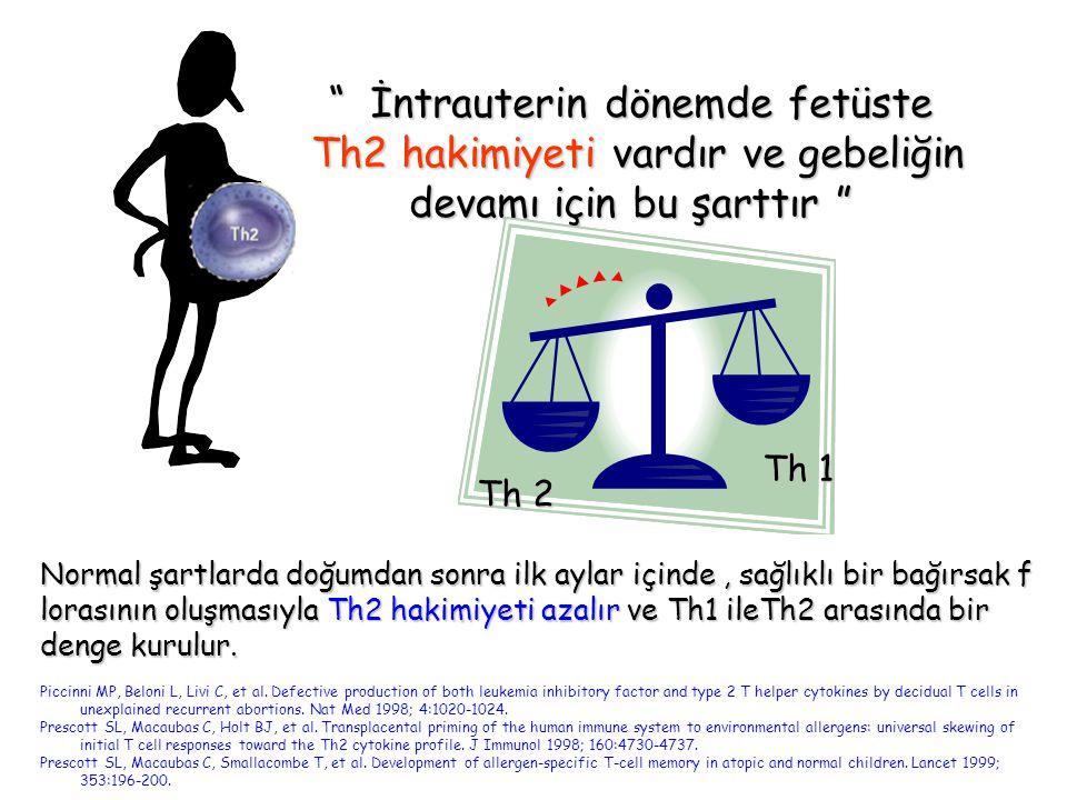İntrauterin dönemde fetüste