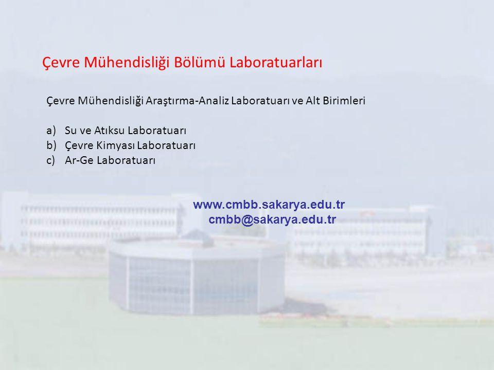 Çevre Mühendisliği Bölümü Laboratuarları