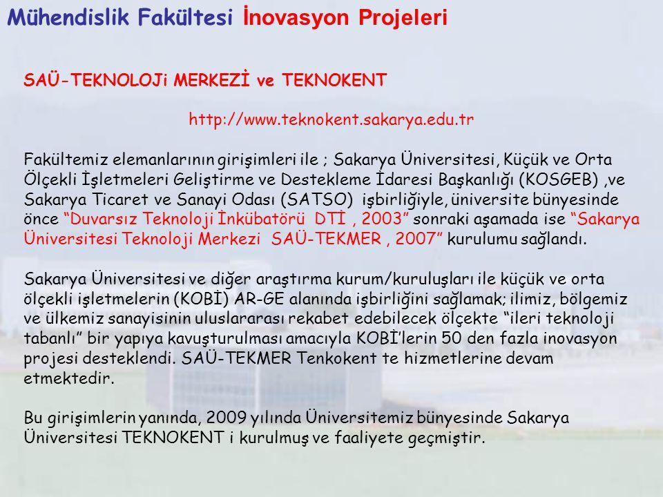 Mühendislik Fakültesi İnovasyon Projeleri