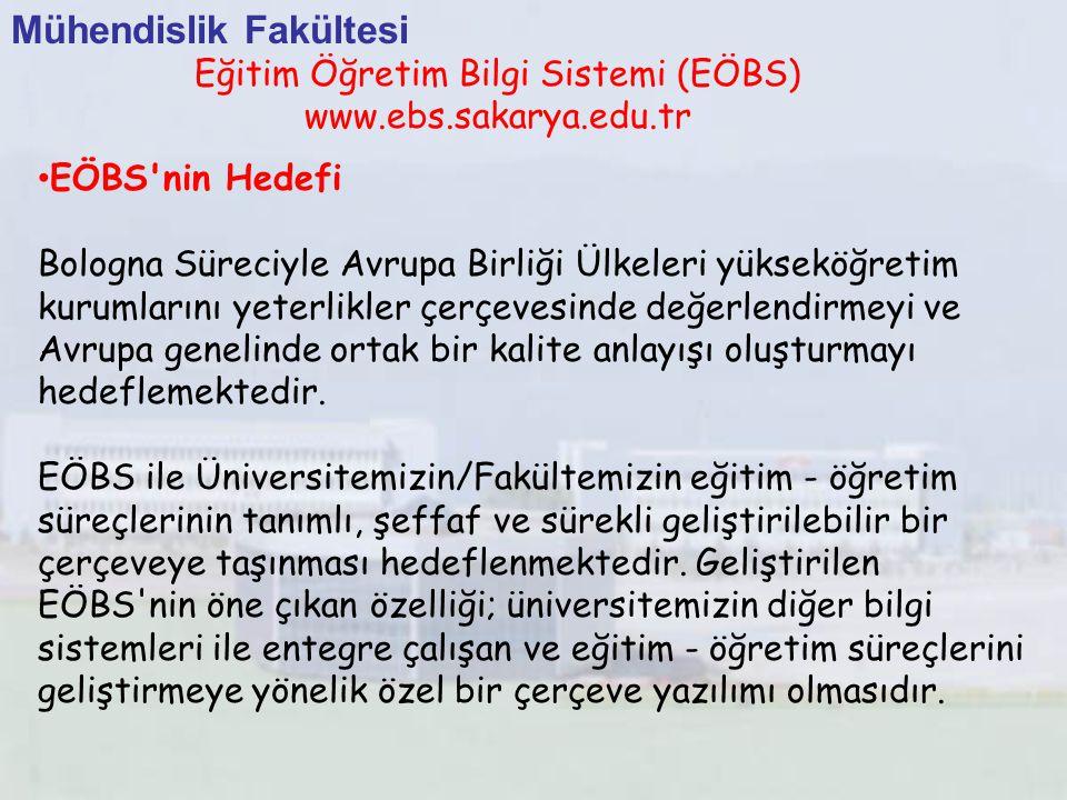 Eğitim Öğretim Bilgi Sistemi (EÖBS)