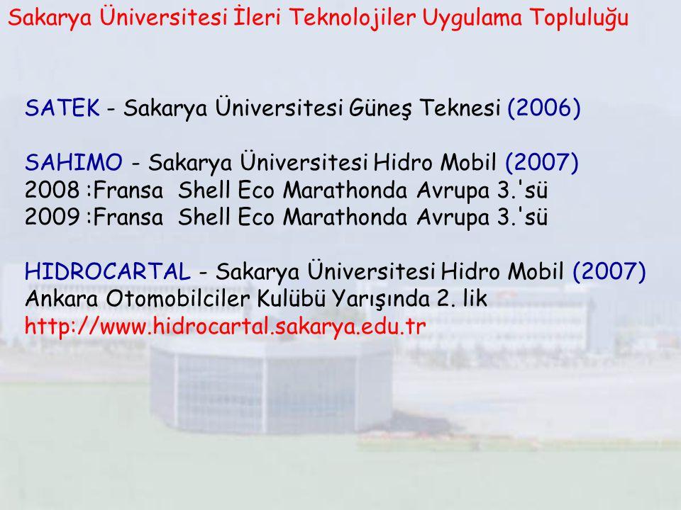Sakarya Üniversitesi İleri Teknolojiler Uygulama Topluluğu