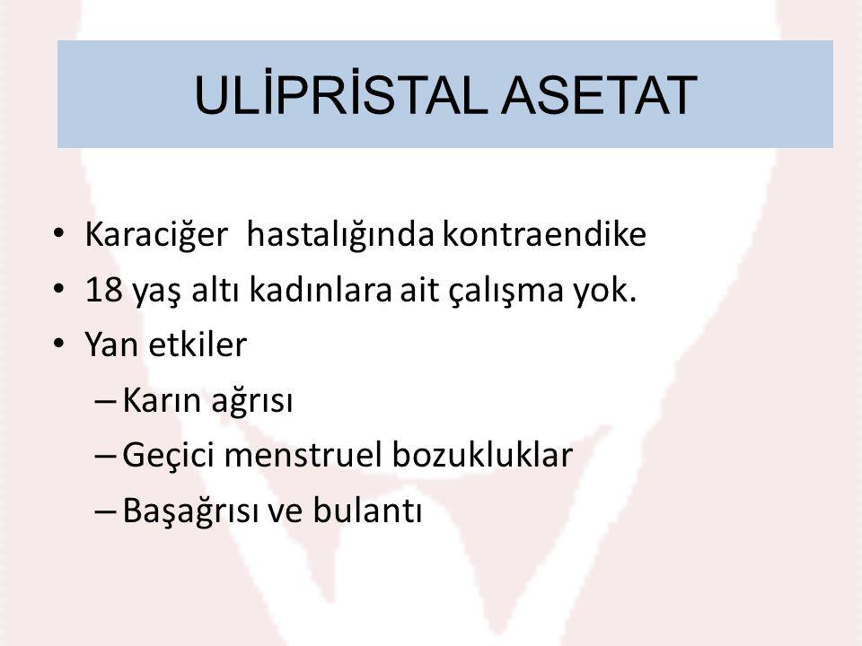 Ulipristal acetate ULİPRİSTAL ASETAT