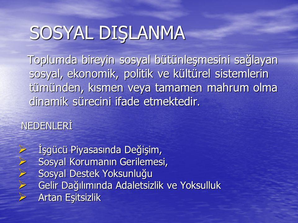 SOSYAL DIŞLANMA