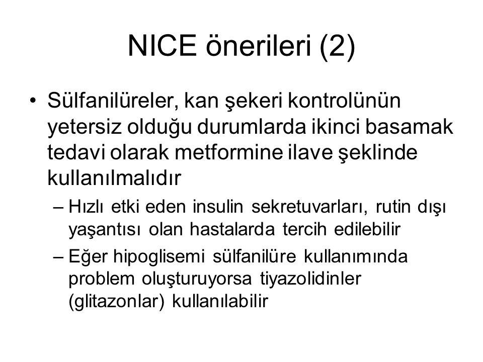 NICE önerileri (2)