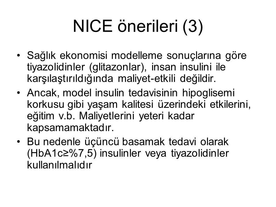 NICE önerileri (3)