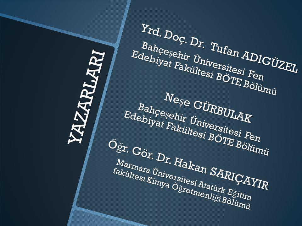 Öğr. Gör. Dr. Hakan SARIÇAYIR