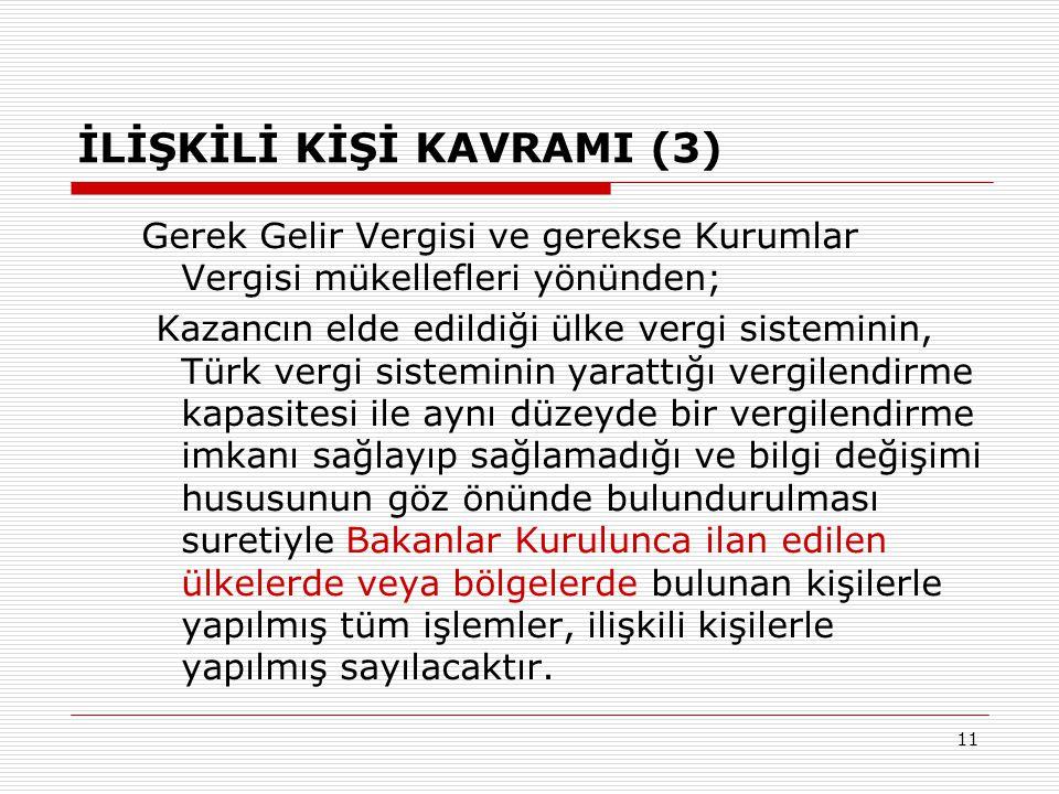 İLİŞKİLİ KİŞİ KAVRAMI (3)