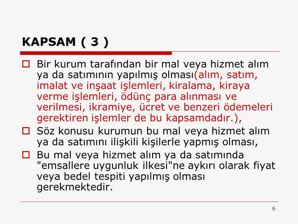 KAPSAM ( 3 )
