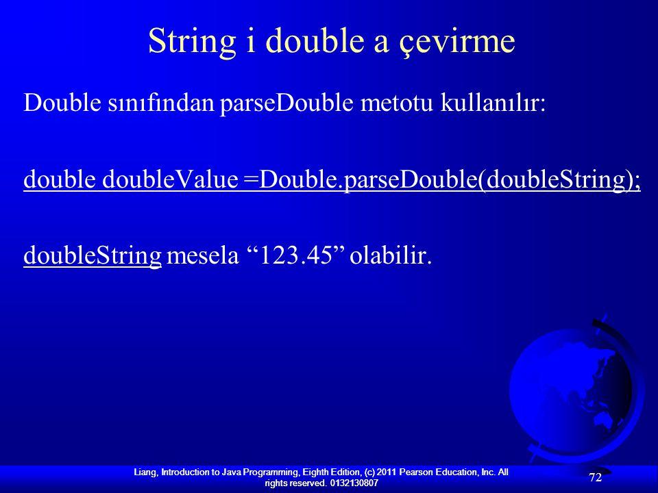 String i double a çevirme
