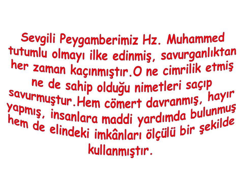 Sevgili Peygamberimiz Hz