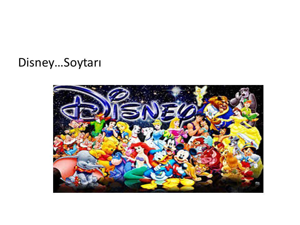 Disney…Soytarı