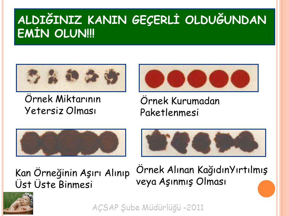 ALDIĞINIZ KANIN GEÇERLİ OLDUĞUNDAN EMİN OLUN!!!