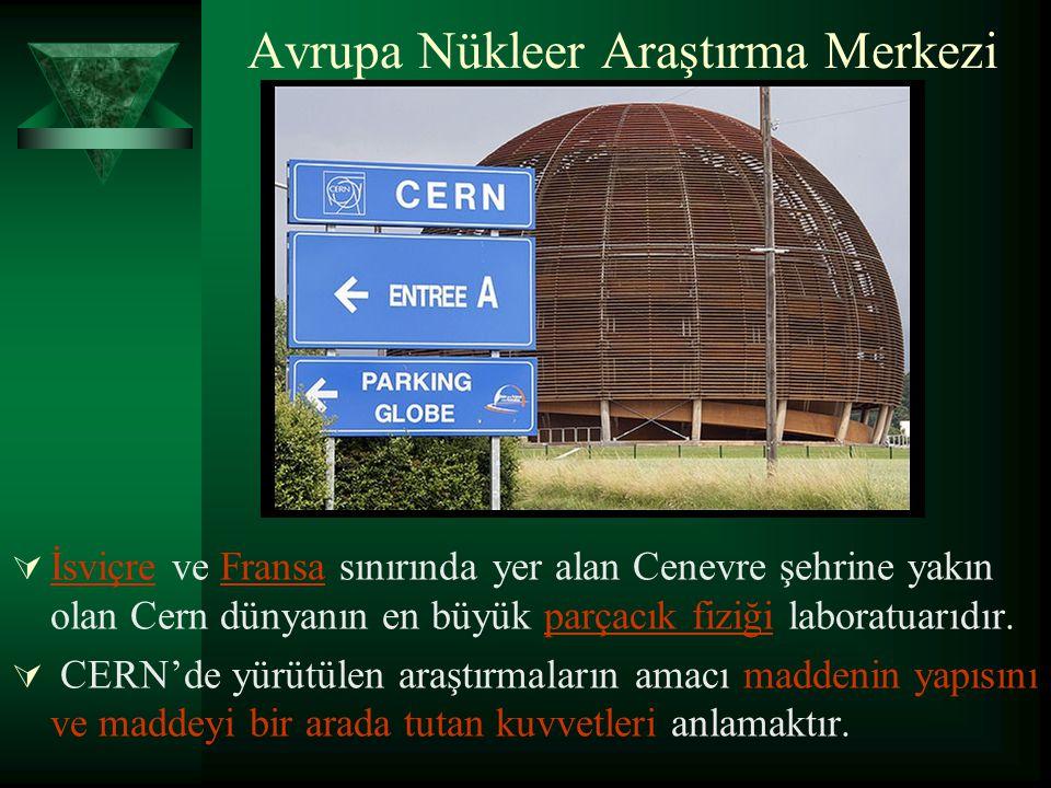 Avrupa Nükleer Araştırma Merkezi