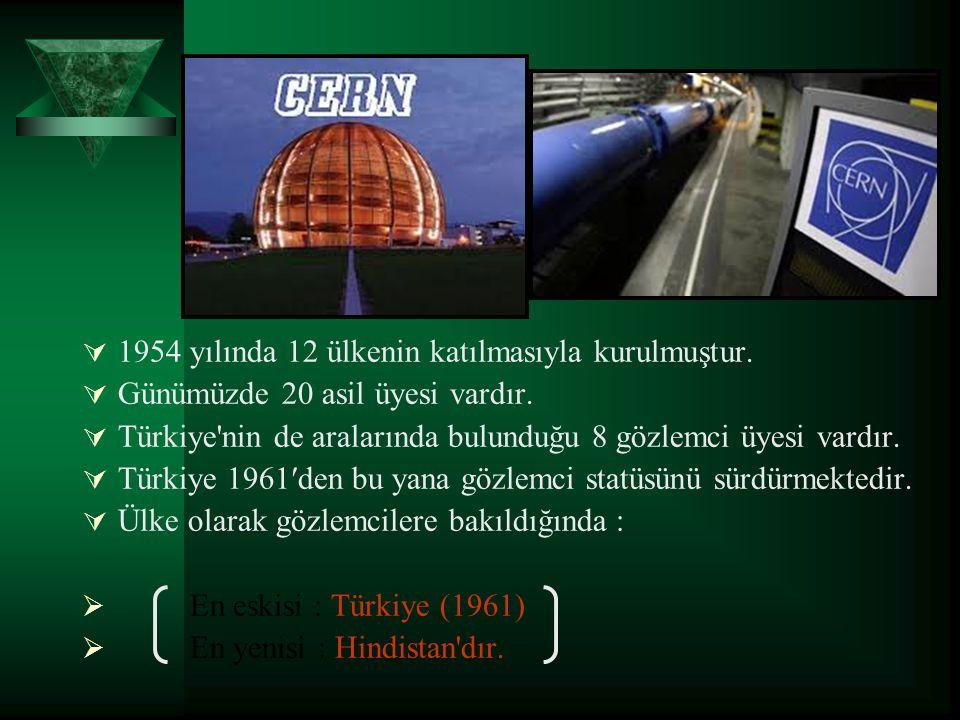 1954 yılında 12 ülkenin katılmasıyla kurulmuştur.
