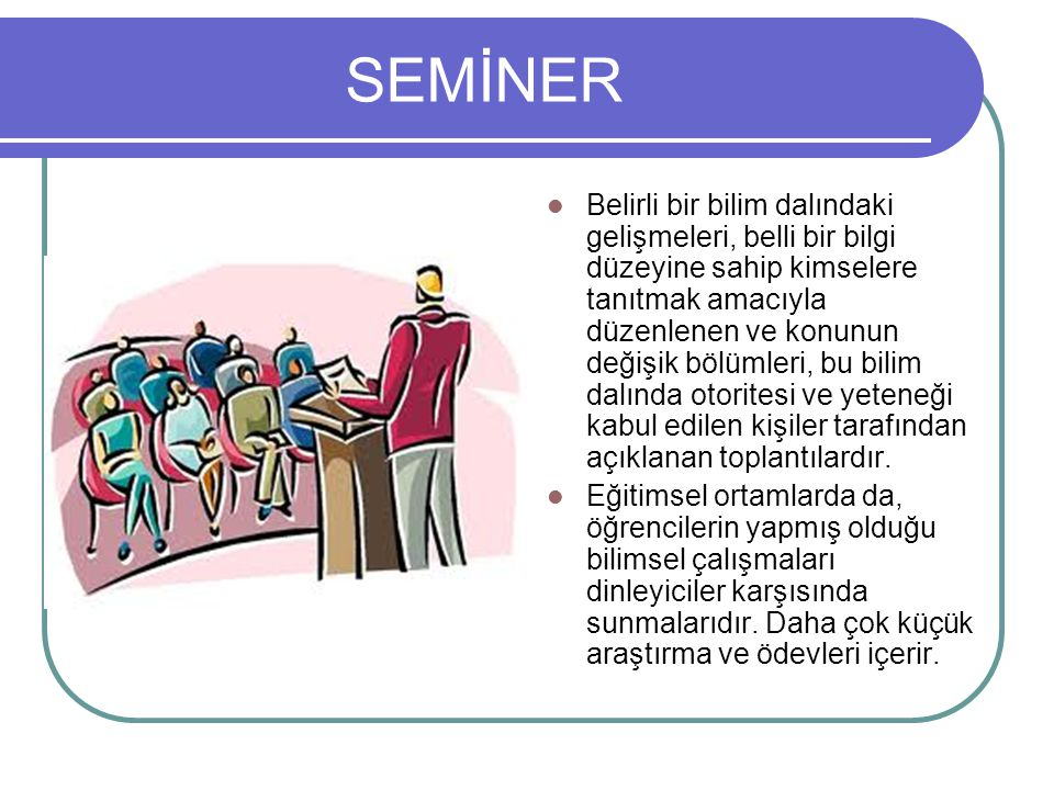 SEMİNER