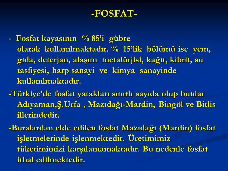 -FOSFAT-