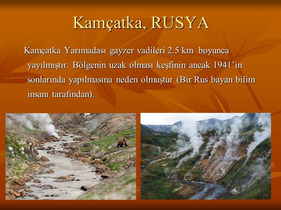 Kamçatka, RUSYA