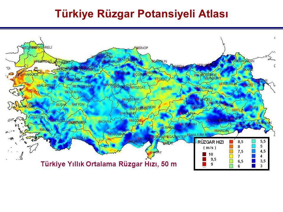 Türkiye Rüzgar Potansiyeli Atlası