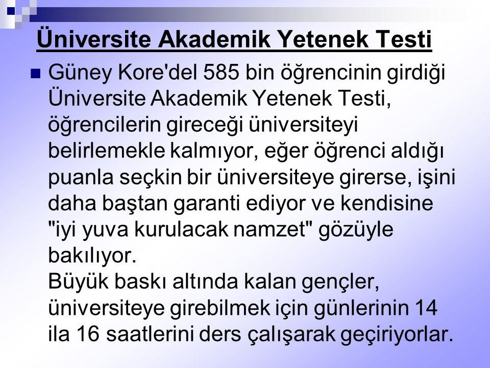 Üniversite Akademik Yetenek Testi