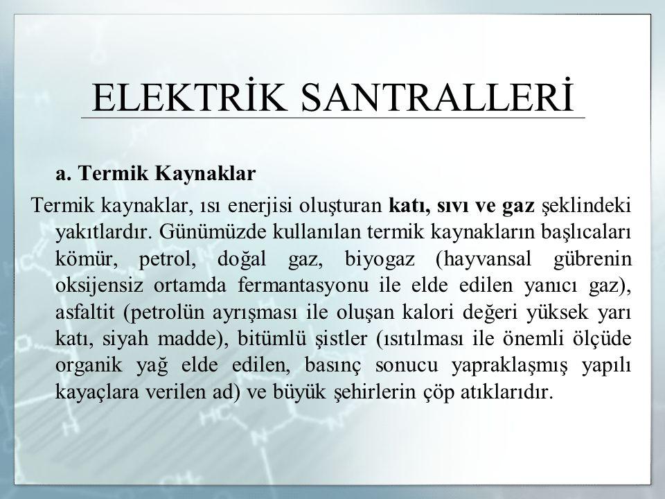 ELEKTRİK SANTRALLERİ